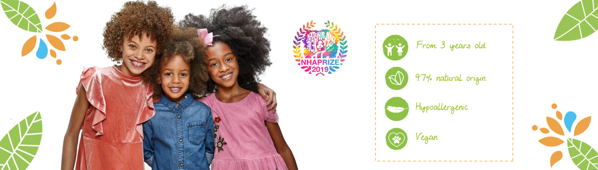 actikids hair care for curly kids over 3 years old